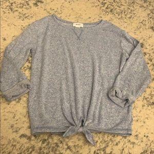 NWOT KNOT detail shirt